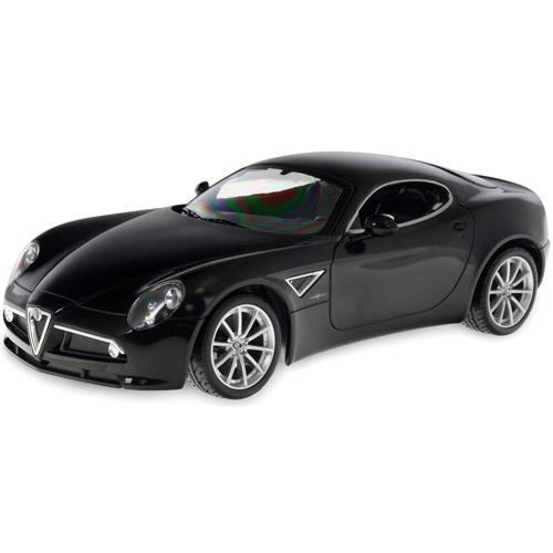 Черный Радиоуправляемая Alfa Romeo 8C (1:14, 31 см)