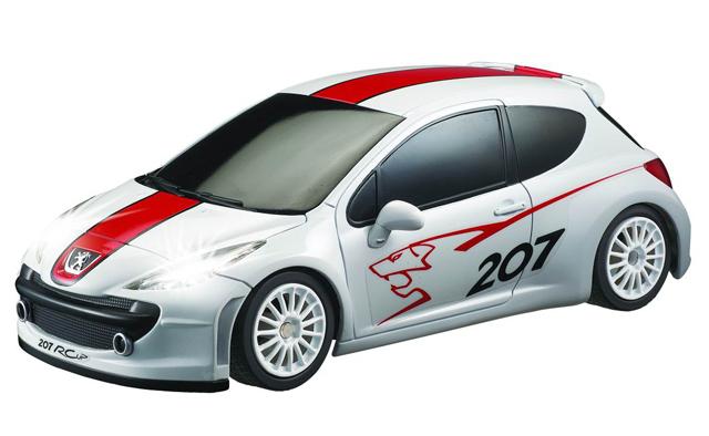 Машина 1:16 Peugeot 207