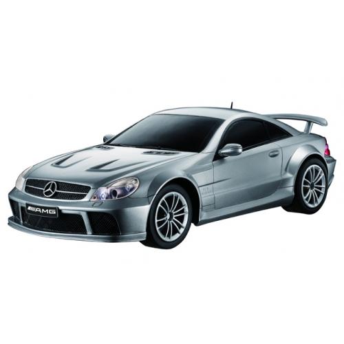 Серебристый Радиоуправляемый Mercedes-Benz SL65 AMG (1:16, 26 см)