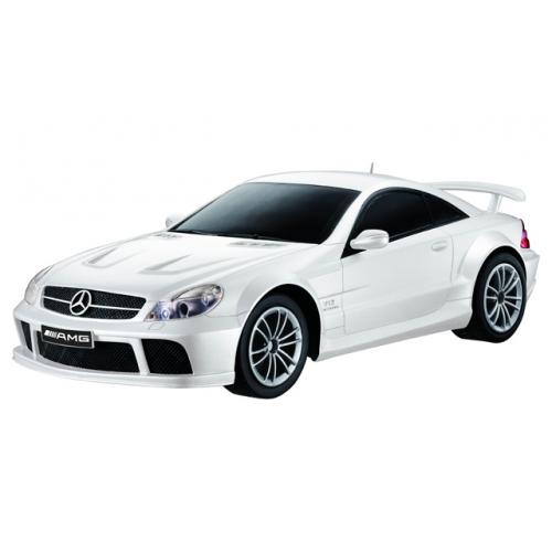 Белый Радиоуправляемый Mercedes-Benz SL65 AMG (1:16, 26 см)