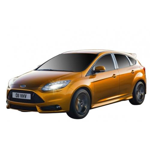 Желтый Радиоуправляемый Ford Focus ST (масштаб 1:16, 26 см.)