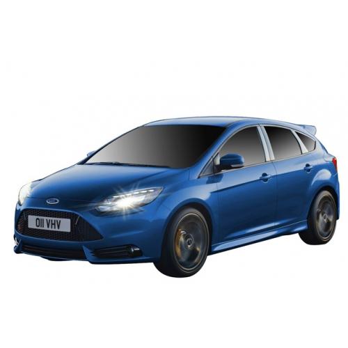 Синий Радиоуправляемый Ford Focus ST (масштаб 1:16, 26 см.)