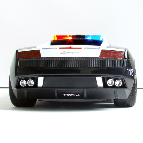 Машина 1:16 Lamborghini Gallardo Police (26 см) - Фото