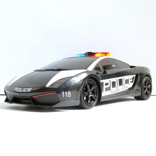 Радиоуправляемая Машина 1:16 Lamborghini Gallardo Police (26 см)
