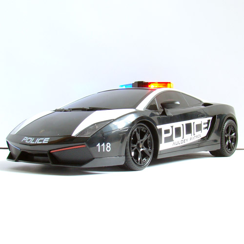 Машина 1:16 Lamborghini Gallardo Police (26 см)