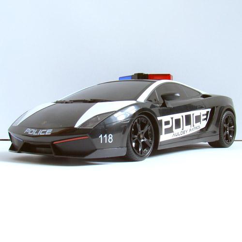 Машина 1:16 Lamborghini Gallardo Police (26 см) - Картинка
