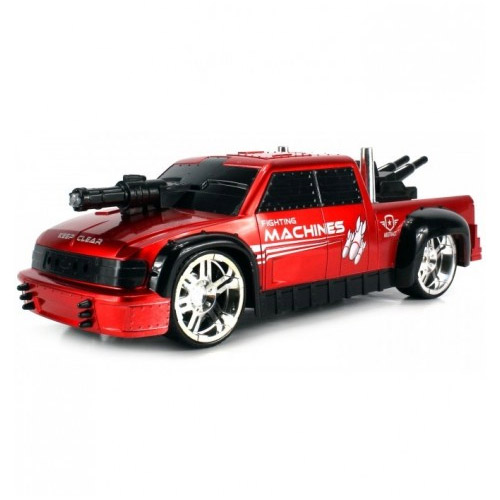 Красный Радиоуправляемая Боевая машина Дорожные Войны (1:16, 27 см)