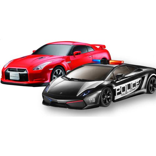 Радиоуправляемый Набор 1:16 Lamborghini  vs. Nissan GT-R