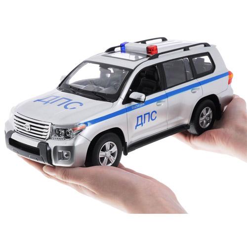 Радиоуправляемая Полицейская Toyota Land Cruiser (1:16, 32 см) - В интернет-магазине