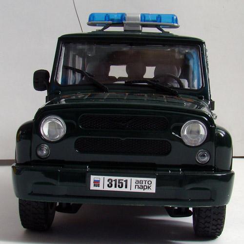Радиоуправляемая Машина 1:16 УАЗ Hunter (25 см., открываются двери) - Изображение