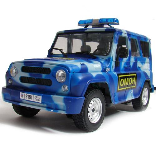 Радиоуправляемая Машина 1:16 УАЗ Hunter (25 см., открываются двери) - Картинка