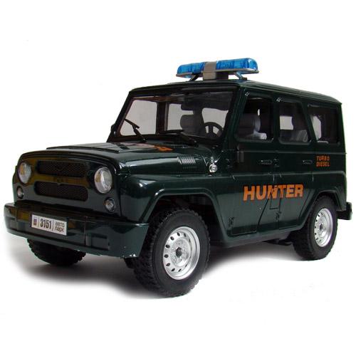 Радиоуправляемая Машина 1:16 УАЗ Hunter (25 см., открываются двери)