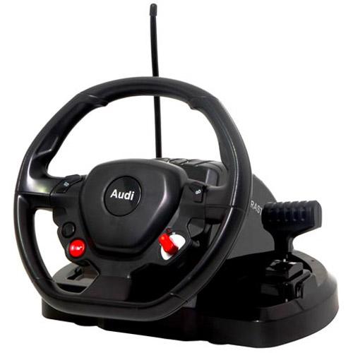 Радиоуправляемая AUDI R8 LMS с рулем управления (1:18, 25 см.)