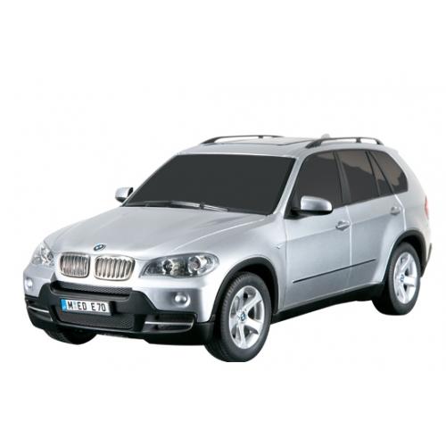 Серебристый Небольшая Радиоуправляемая BMW X5 (1:18, 27 см.)