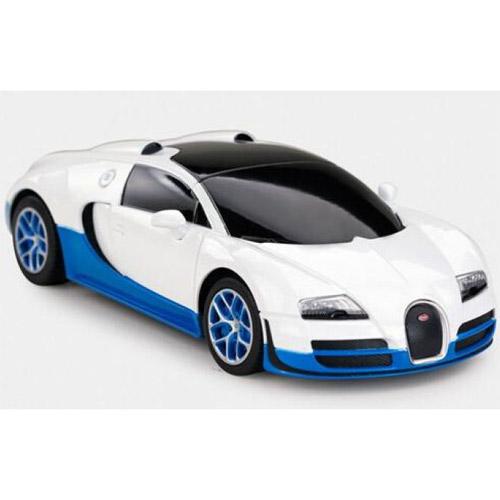 Белый Небольшая Радиоуправляемая Bugatti Veyron Grand Sport (1:18, 27 см.)
