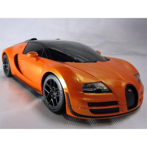 Небольшая Радиоуправляемая Bugatti Veyron Grand Sport (1:18, 27 см.) - Изображение