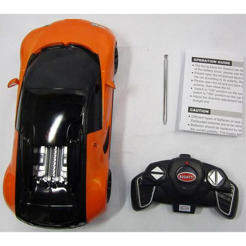 Небольшая Радиоуправляемая Bugatti Veyron Grand Sport (1:18, 27 см.) - Картинка