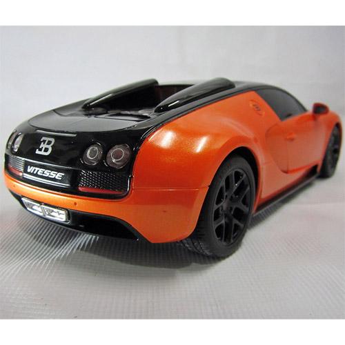 Небольшая Радиоуправляемая Bugatti Veyron Grand Sport (1:18, 27 см.) - Фотография