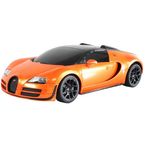 Небольшая Радиоуправляемая Bugatti Veyron Grand Sport (1:18, 27 см.)