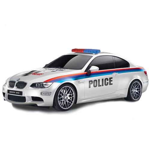 Радиоуправляемая Машина 1:18 BMW M3 POLICE