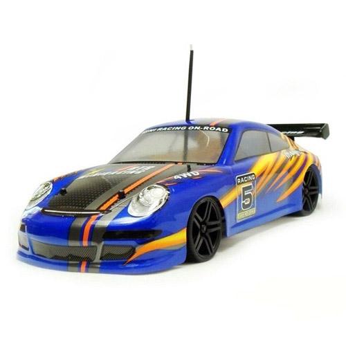 Скоростная радиоуправляемая машина Porsche 911 (1:18, 2.4Ghz, 23 см)