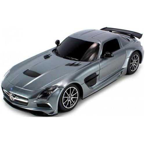 Серый Небольшой Радиоуправляемый Mersedes-Benz SLS AMG (1:18, 25 см.)