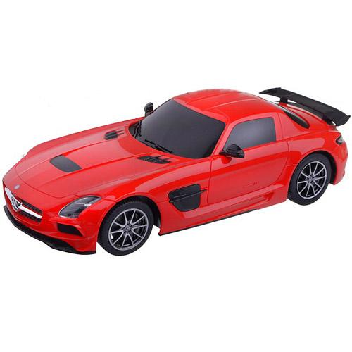 Красный Небольшой Радиоуправляемый Mersedes-Benz SLS AMG (1:18, 25 см.)