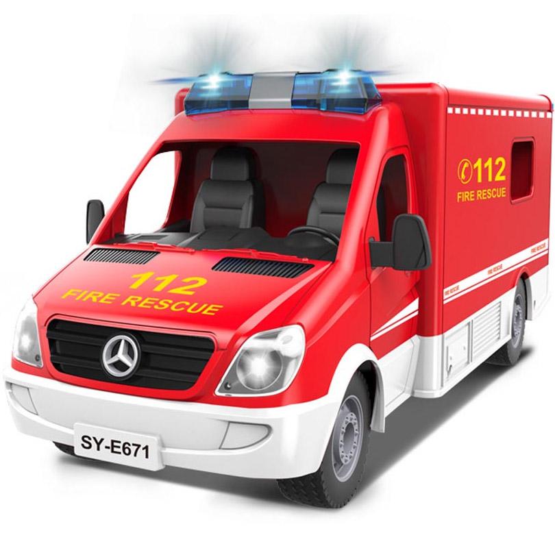 Радиоуправляемый Пожарный Фургон (1:18, 33 см)