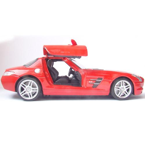 Радиоуправляемая Машинка 1:24 Mercedes-Benz SLS (открываются двери, 20 см, металл) - Фотография