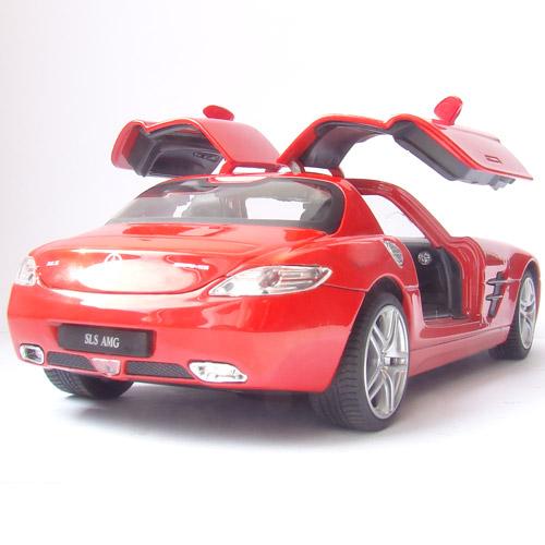Радиоуправляемая Машинка 1:24 Mercedes-Benz SLS (открываются двери, 20 см, металл) - В интернет-магазине