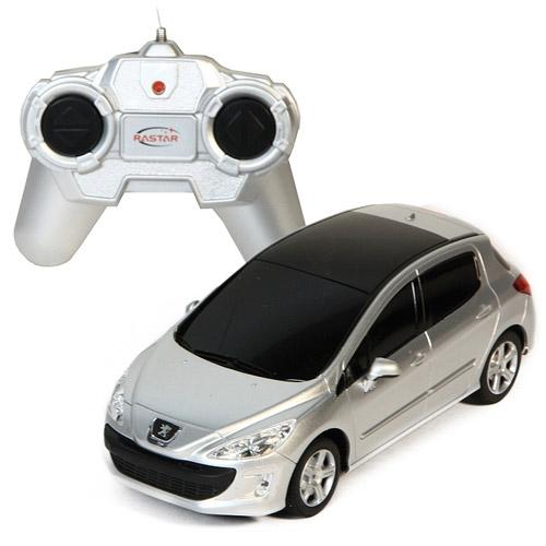 Маленькая радиоуправляемая машинка Peugeot 308 (1:24, 17 см)