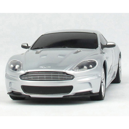Серебристый Радиоурпавляемая Машинка 1:24 Aston Martin DBS (19 см)
