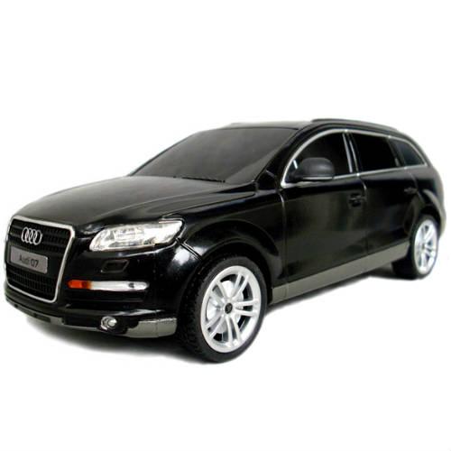 Черный Маленькая Радиоуправляемая Машинка Audi Q7 (1:24, 20 см.)