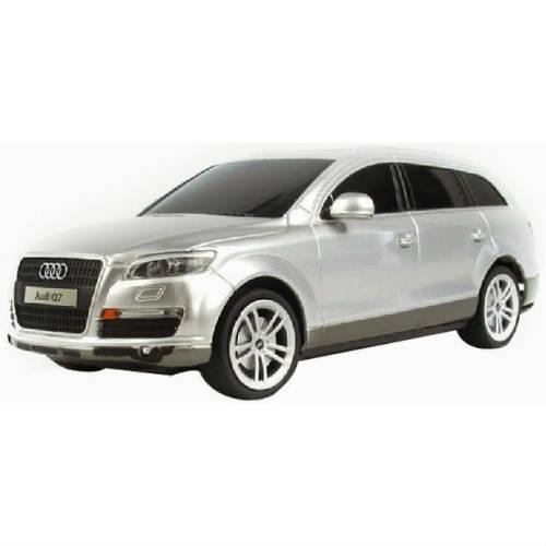 Серебристый Маленькая Радиоуправляемая Машинка Audi Q7 (1:24, 20 см.)