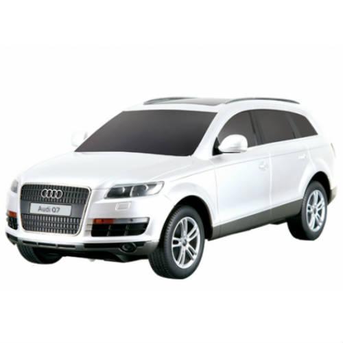 Белый Маленькая Радиоуправляемая Машинка Audi Q7 (1:24, 20 см.)