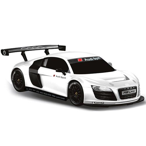 Белый Маленькая Радиоуправляемая Машинка Audi R8 (1:24, 19 см.)