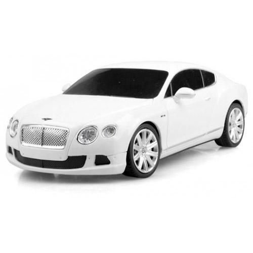 Белый Маленькая Радиоуправляемая Машинка Bentley Continental GT (1:24, 20 см.)