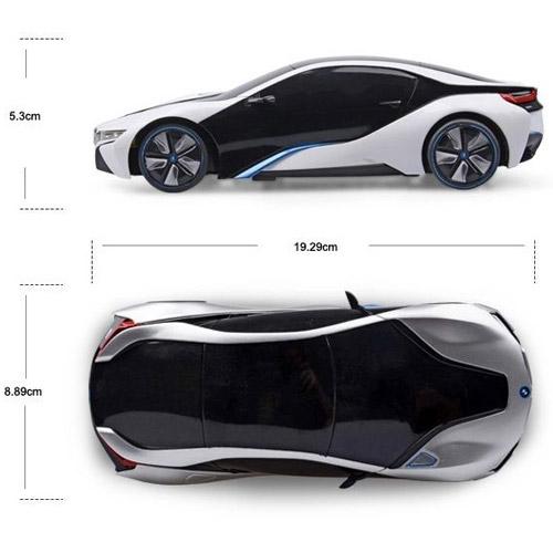 Маленькая Радиоуправляемая Машинка BMW i8 (1:24, 19 см)