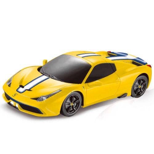 Желтый Маленькая Радиоуправляемая Машинка Ferrari 458 Speciale (1:24, 19 см)