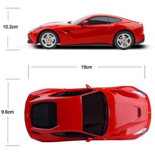 Маленькая Радиоуправляемая Машинка Ferrari F12 berlinetta (1:24, 19 см.) - В интернет-магазине