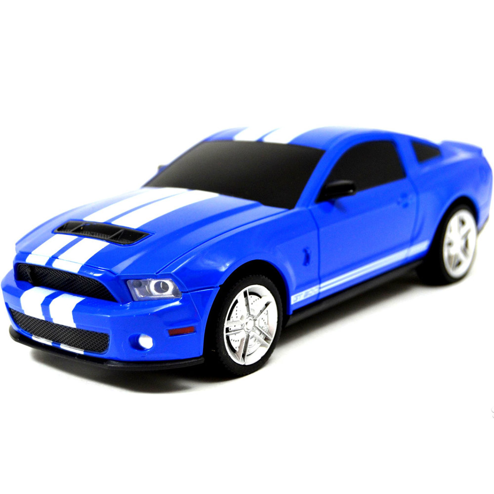 Маленький Радиоуправляемый Ford Mustang Shelby (1:24, 20 см.)