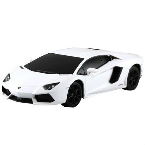 Белый Маленькая радиоуправляемая машинка Lamborghini Aventador LP700-4 (1:24, 18 см)