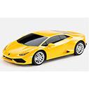 Желтый Маленькая радиоуправляемая машинка Lamborghini Huracan LP 610-4 (1:24, 19 см.)