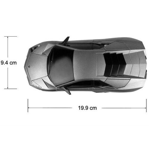 Маленькая радиоуправляемая машинка Lamborghini Reventon (1:24, 20 см.) - Картинка