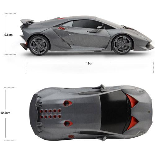 Маленькая Радиоуправляемая Машинка Lamborghini Sesto Elemento (1:24, 19 см.) - Фото
