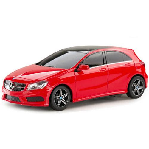 Красный Маленькая Радиоуправляемая Машинка Mercedes-Benz A-class (1:24, 19 см)