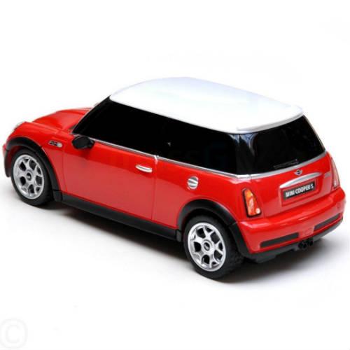 Маленькая радиоуправляемая машинка Mini Cooper S (1:24, 17 см.) - Картинка