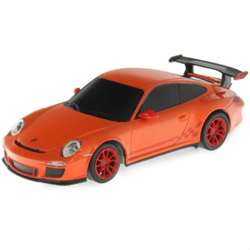 Оранжевый Маленькая радиоуправляемая машинка Porsche 911 GT3 RS (1:24, 17 см)