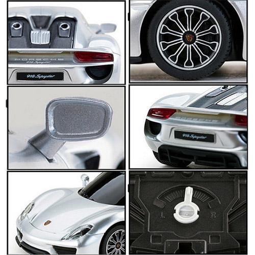 Маленькая радиоуправляемая машинка Porsche 918 Spyder (1:24, 20 см) - Фото