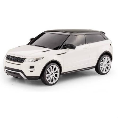 Белый Маленькая радиоуправляемая машинка Range Rover Evoque (1:24, 20 см.)